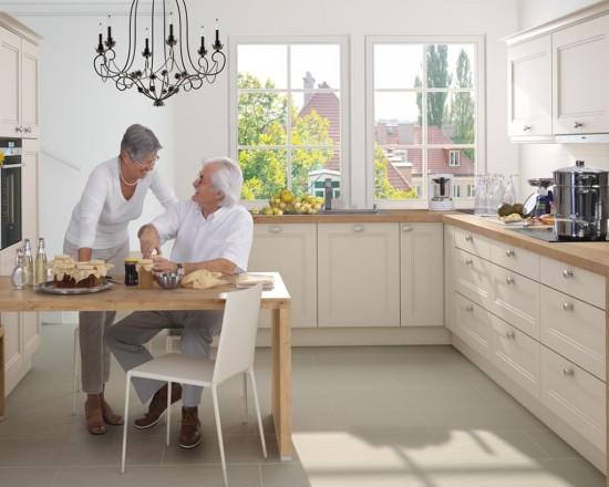 Windsor un nuovo modello che porta tonalit morbide in - Coordinati cucina country ...