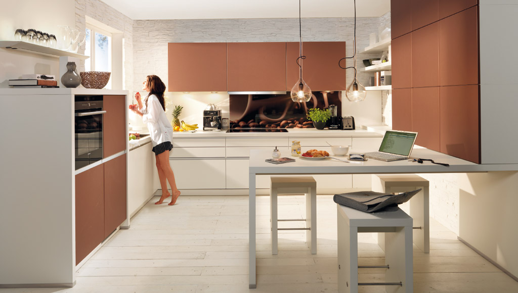 Cucina tavolo penisola vs05 regardsdefemmes - Isola cucina con tavolo ...