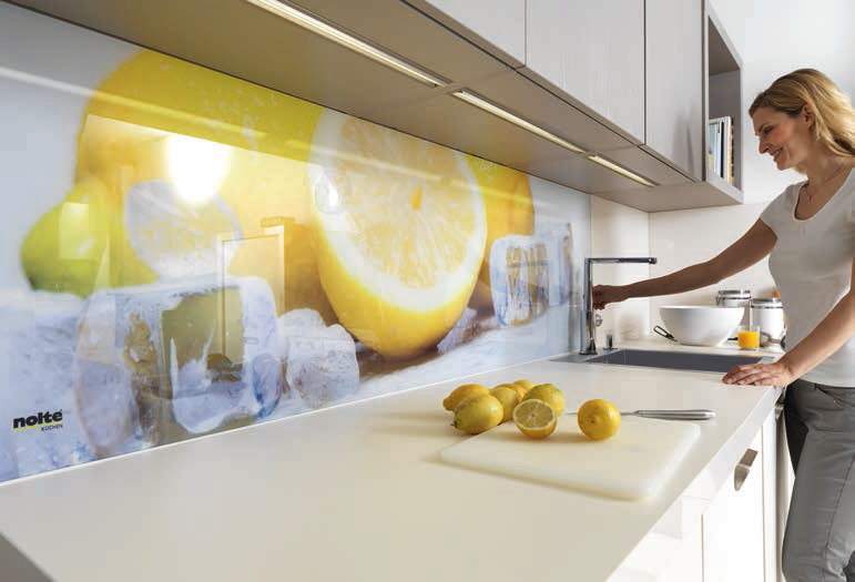 Nolte cucine pannelli decorativi kuchendesign le cucine for Pannelli di piastrelle per cucina