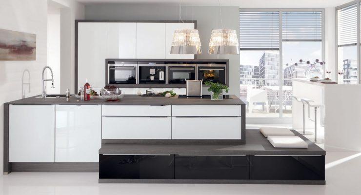 glas tec plus la perfezione nolte si veste di vetro kuchendesign le cucine di qualit a roma. Black Bedroom Furniture Sets. Home Design Ideas