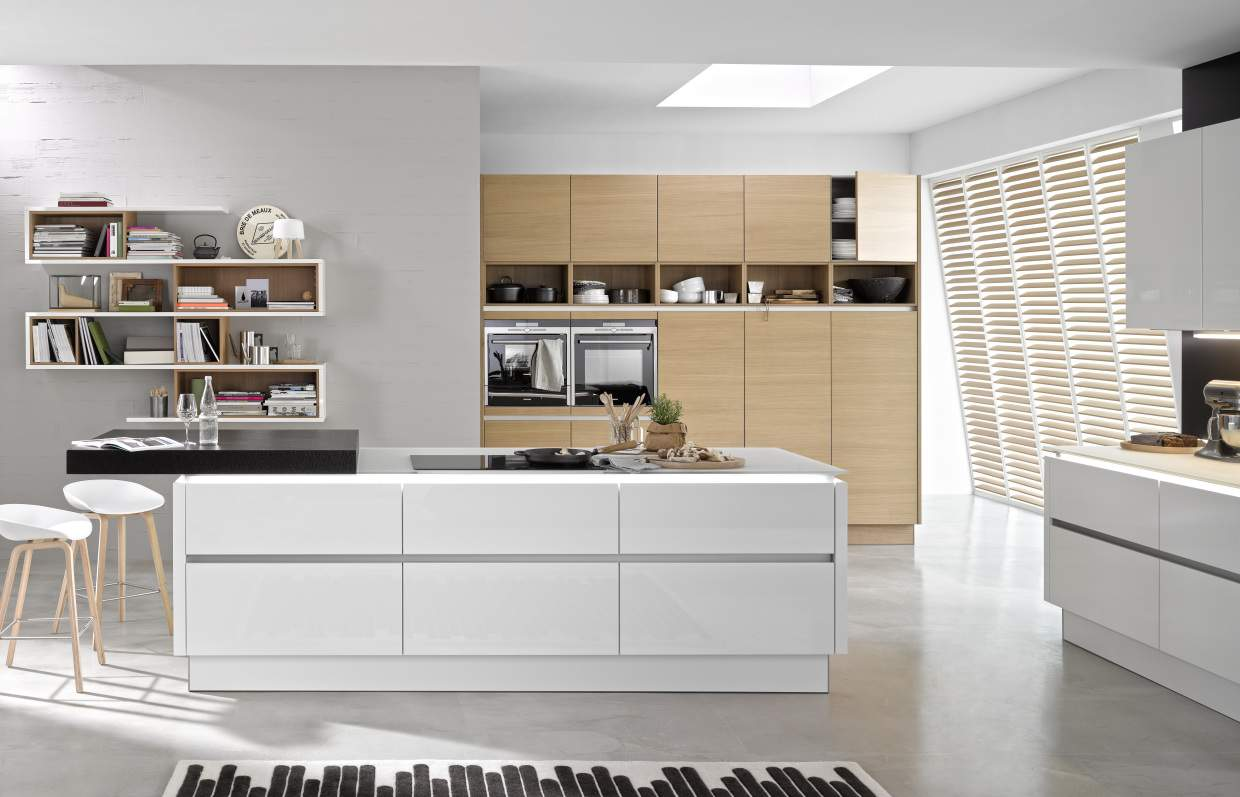 nova lack nature kuchendesign le cucine di qualit a roma. Black Bedroom Furniture Sets. Home Design Ideas
