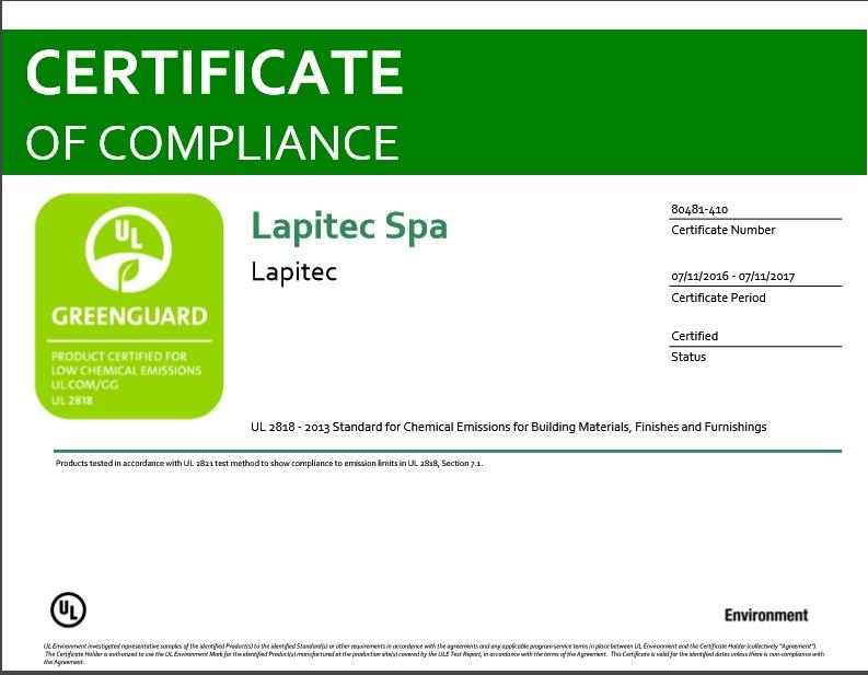 certificato greeguard